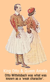 although niether were Greek they liked to dress up Greek Style